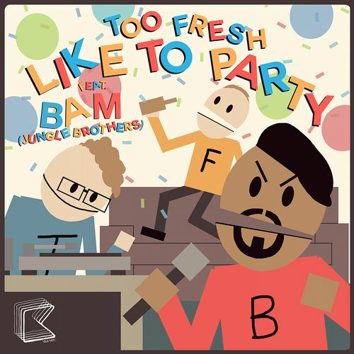 Album Art - Like To Party (feat. Bam)