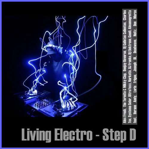 Album Art - Living Electro - Step D