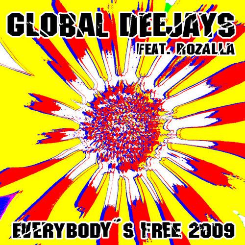 Album Art - Everybody's Free (2009 Rework) - Taken from Superstar Recordings
