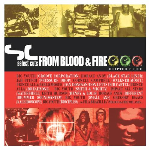 Album Art - Select Cuts from Blood & Fire 3