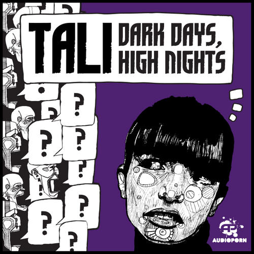 Album Art - Tali, Dark Days, High Nights