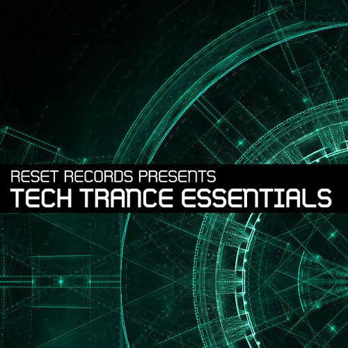 Album Art - Reset Records Presents - Tech Trance Essentials