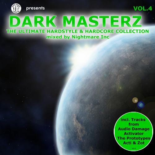 Album Art - Dark Masterz, Vol. 4 - The Ultimate Hardstyle & Hardcore Collection
