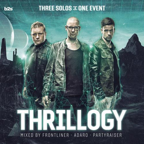 Album Art - Thrillogy 2013 Mixed by Frontliner, Adaro and Partyraiser