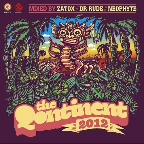 Album Art - The Qontinent 2012
