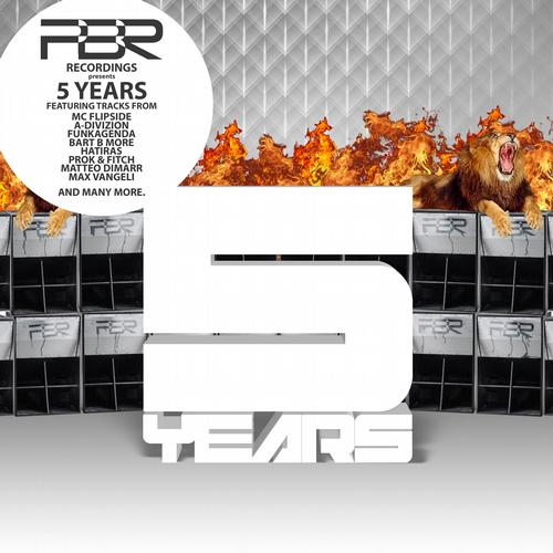 Album Art - 5 Years - PBR Recordings