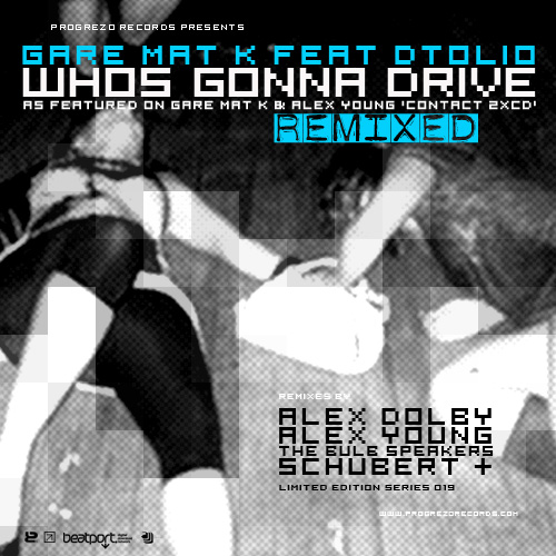 Album Art - Who's Gonna Drive REMIXED