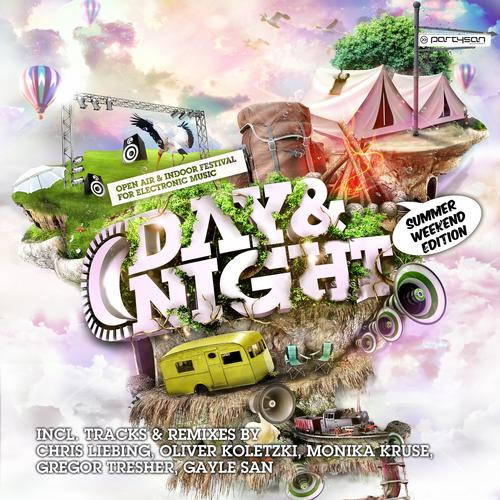 Album Art - Partysan Pres. Day & Night 2012 - Summer Weekend Edition