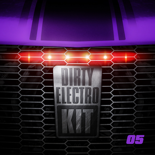 Album Art - Dirty Electro Kit - Volume 5