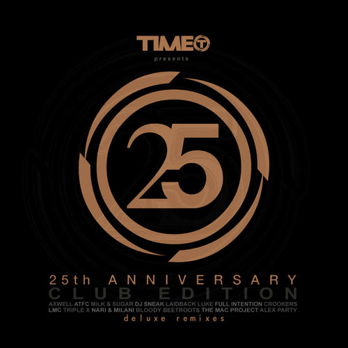 Album Art - Time 25th Anniversary Club Edition (Deluxe Remixes)