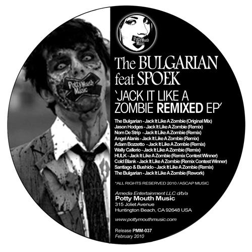 Album Art - Jack It Like A Zombie Remixed EP