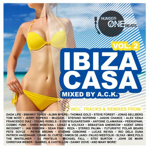 Album Art - Ibiza Casa, Vol. 2 - mixed by A.C.K. (incl. 32 unmixed tracks & 2 non- stop DJ mixes)