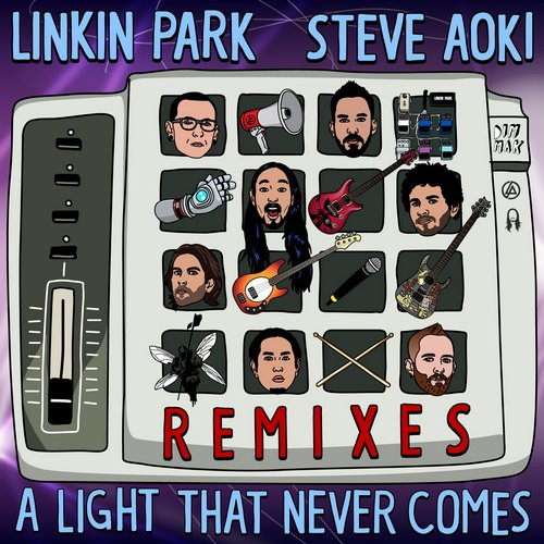 Album Art - A LIGHT THAT NEVER COMES (Remixes)