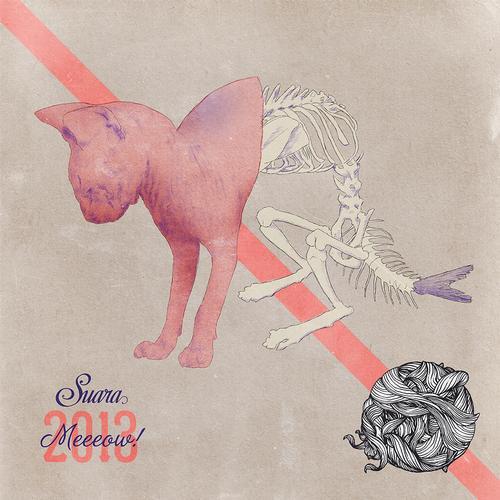 Meeeow! 2013 Album Art