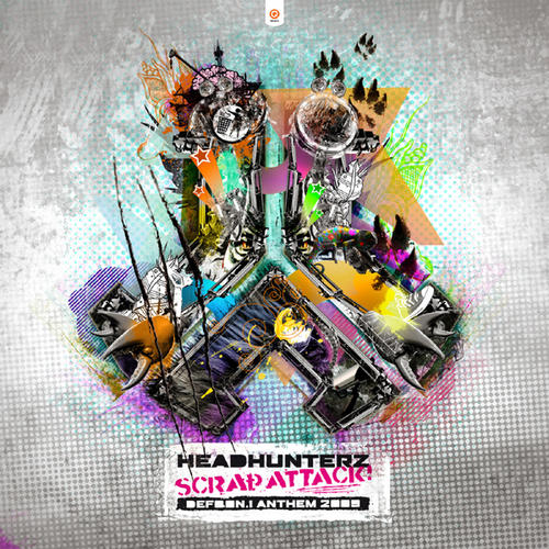 Album Art - Scrap Attack (Defqon.1 Anthem 2009)