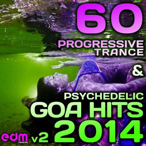 Album Art - 60 Progressive Trance & Psychedelic Goa Hits 2014