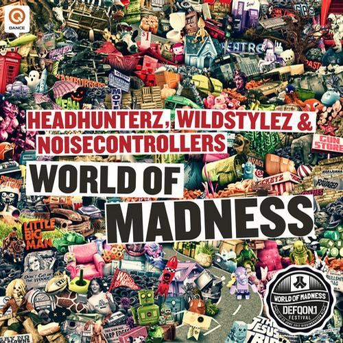 Album Art - World of Madness (Defqon.1 2012 O.S.T.)