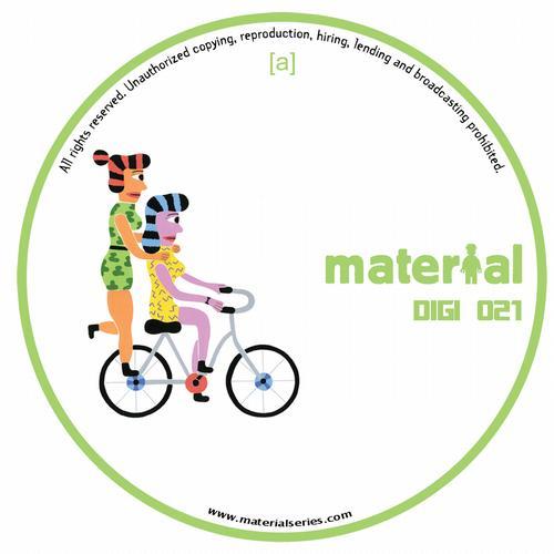 Material Agents Vol.1 Album Art