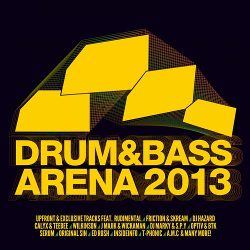 Album Art - Drum & Bass Arena 2013