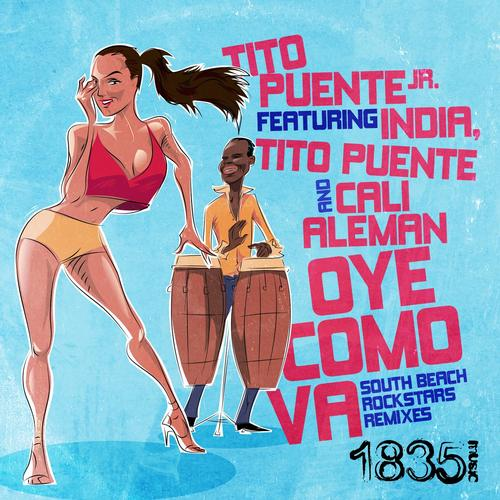 Oye Como Va (South Beach Rockstars Remixes) Album Art