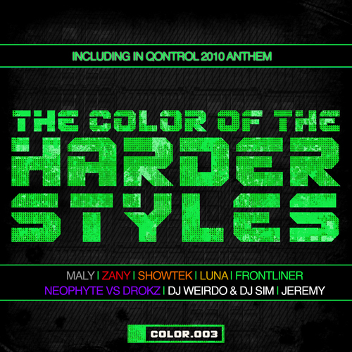 Album Art - The Color Of The Harder Styles - Part 3