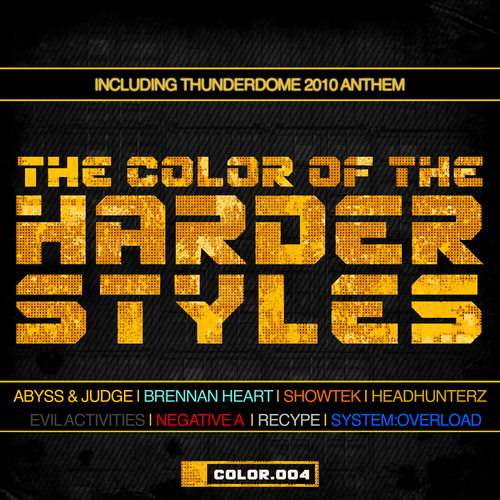 Album Art - The Color Of The Harder Styles (Part 4)