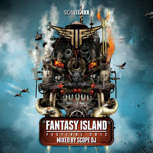 Album Art - Fantasy Island Festival 2012 - Mixed By Scope DJ