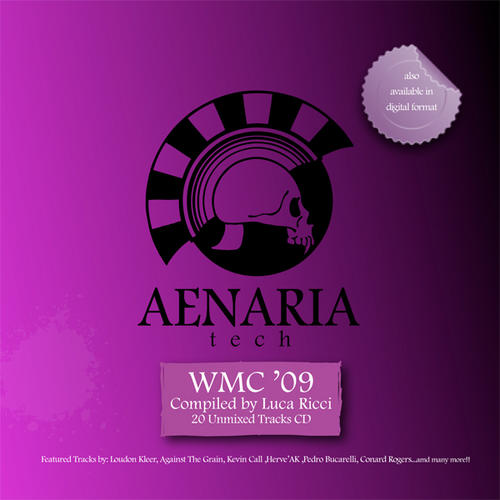 Album Art - Luca Ricci Presents Aenaria Tech WMC 09
