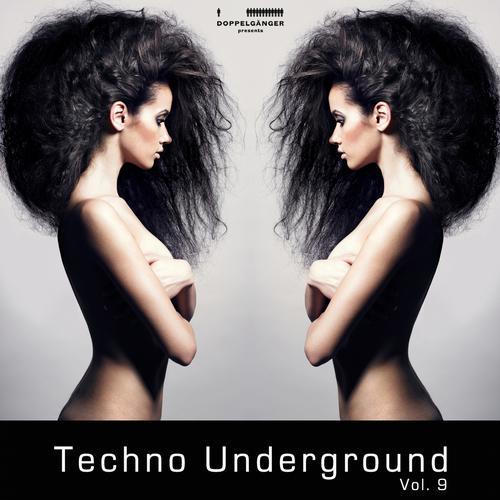 Album Art - Doppelganger pres. Techno Underground Vol. 9