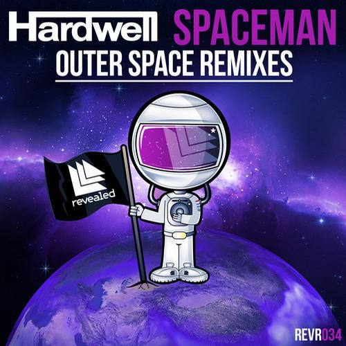 Album Art - Spaceman - Outer Space Remixes