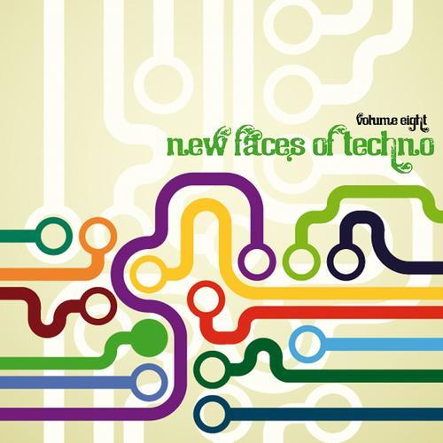 Album Art - New Faces of Techno, Vol. 8