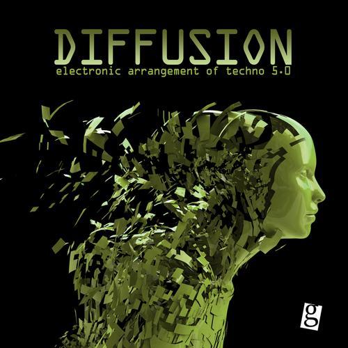 Album Art - Diffusion 5.0 - Electronic Arrangement of Techno