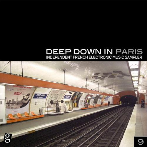 Album Art - Deep Down in Paris, Vol. 9 - Independent French Electronic Music Sampler