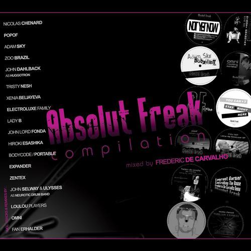 Album Art - Absolut Freak Compilation (Mixed by Frederic De Carvalho)