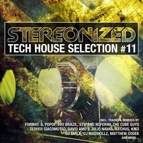 Stereonized - Tech House Selection Vol. 11 Album Art