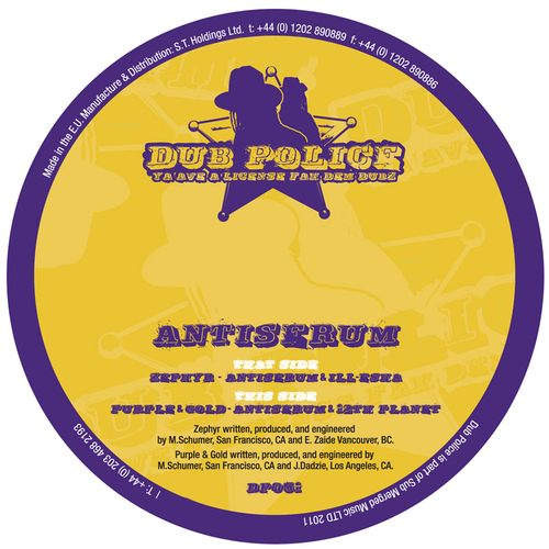 Album Art - Zephyr / Purple & Gold