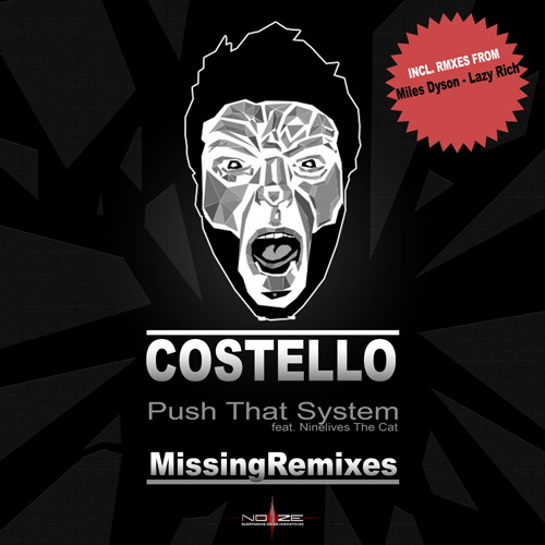 Album Art - Push That System - Missing Remixes
