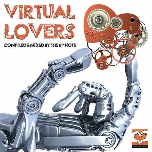Album Art - Virtual Lovers - Vol. 1 (Compiled by The 8th Note)