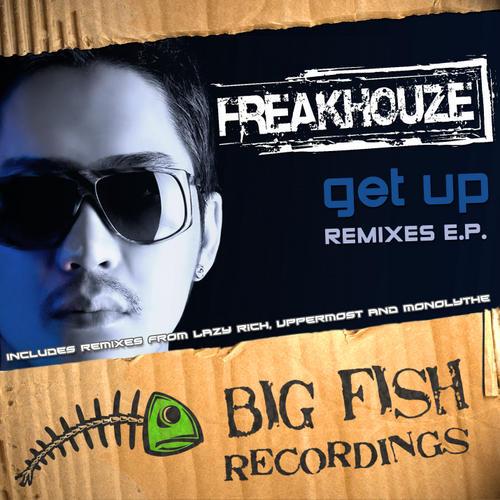 Get Up Remixes EP Album Art