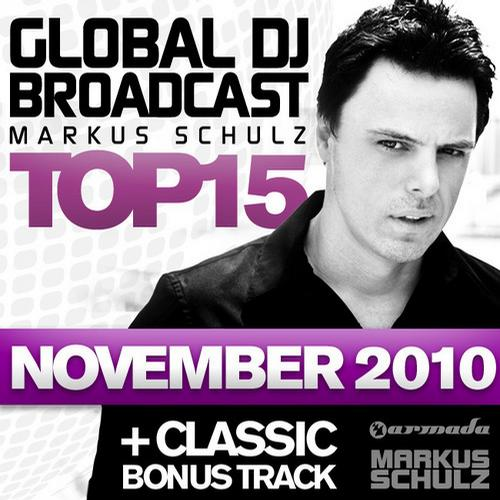 Album Art - Global DJ Broadcast Top 15 - November 2010 - Including Classic Bonus Track