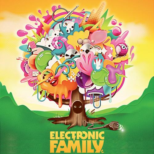 Album Art - Electronic Family - The Compilation