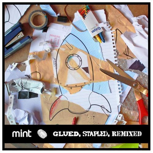 Album Art - Glued, Stapled, Remixed