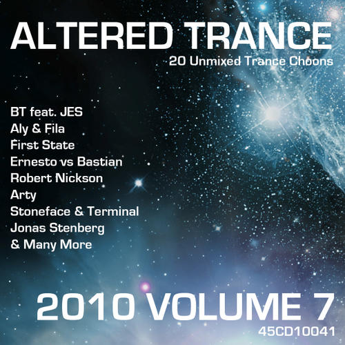 Album Art - Altered Trance 2010 Volume 7