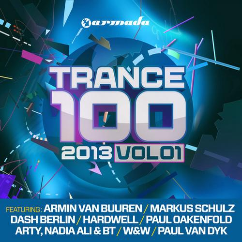 Album Art - Trance 100 - 2013, Vol. 1