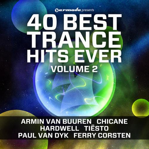 Album Art - 40 Best Trance Hits Ever, Vol. 2