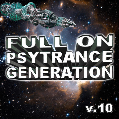 Album Art - Full On Psytrance Generation V10