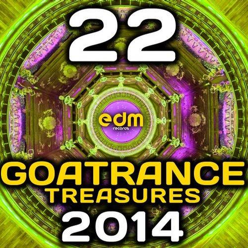 Album Art - Goa Trance Treasures 2014 - 22 Best of Top Full-on, Progressive & Psychedelic Goa Hits