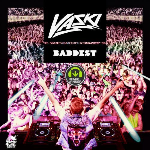 Album Art - Baddest - Remix Comp Winner