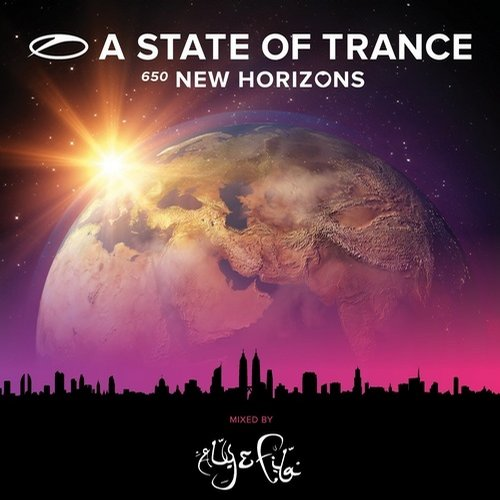 Album Art - A State Of Trance 650 - New Horizons (Extended Versions) - Mixed by Aly & Fila