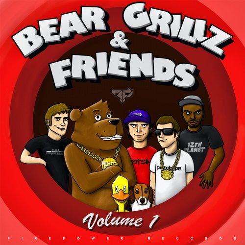 Album Art - Bear Grillz & Friends